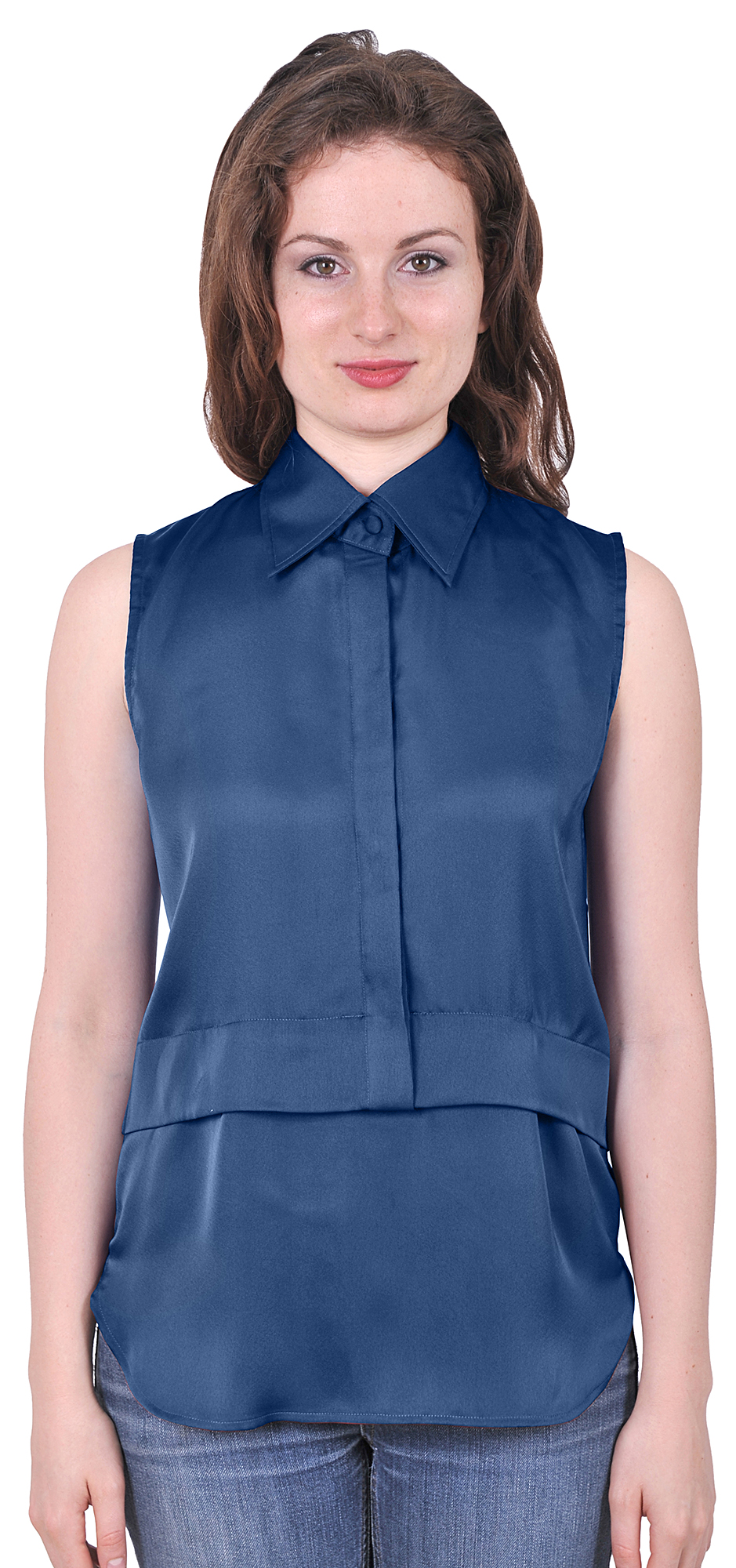 Shop ANNE KLEIN SLEEVELESS RUFFLE BUTTON DOWN BOW BLOUSE, BLACK, starting at ¥ Similar ones also available. On SALE now!