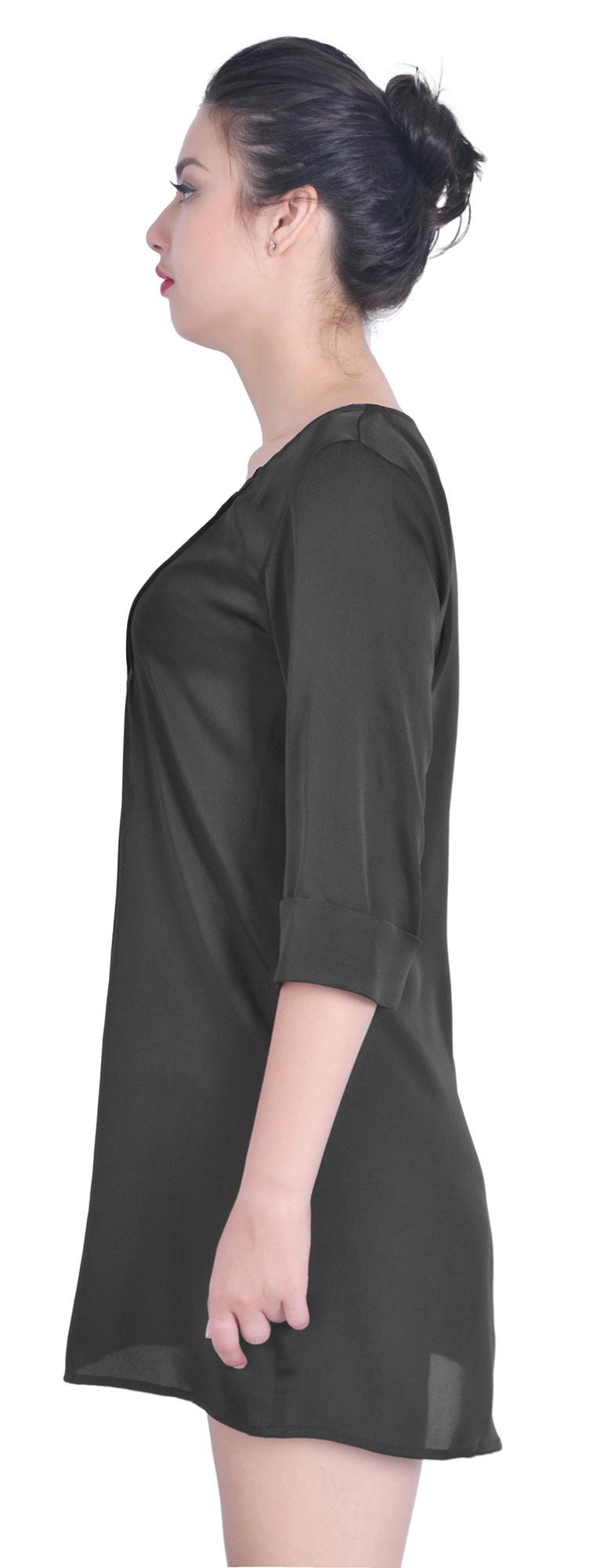 Denim Shirt Dress Tork