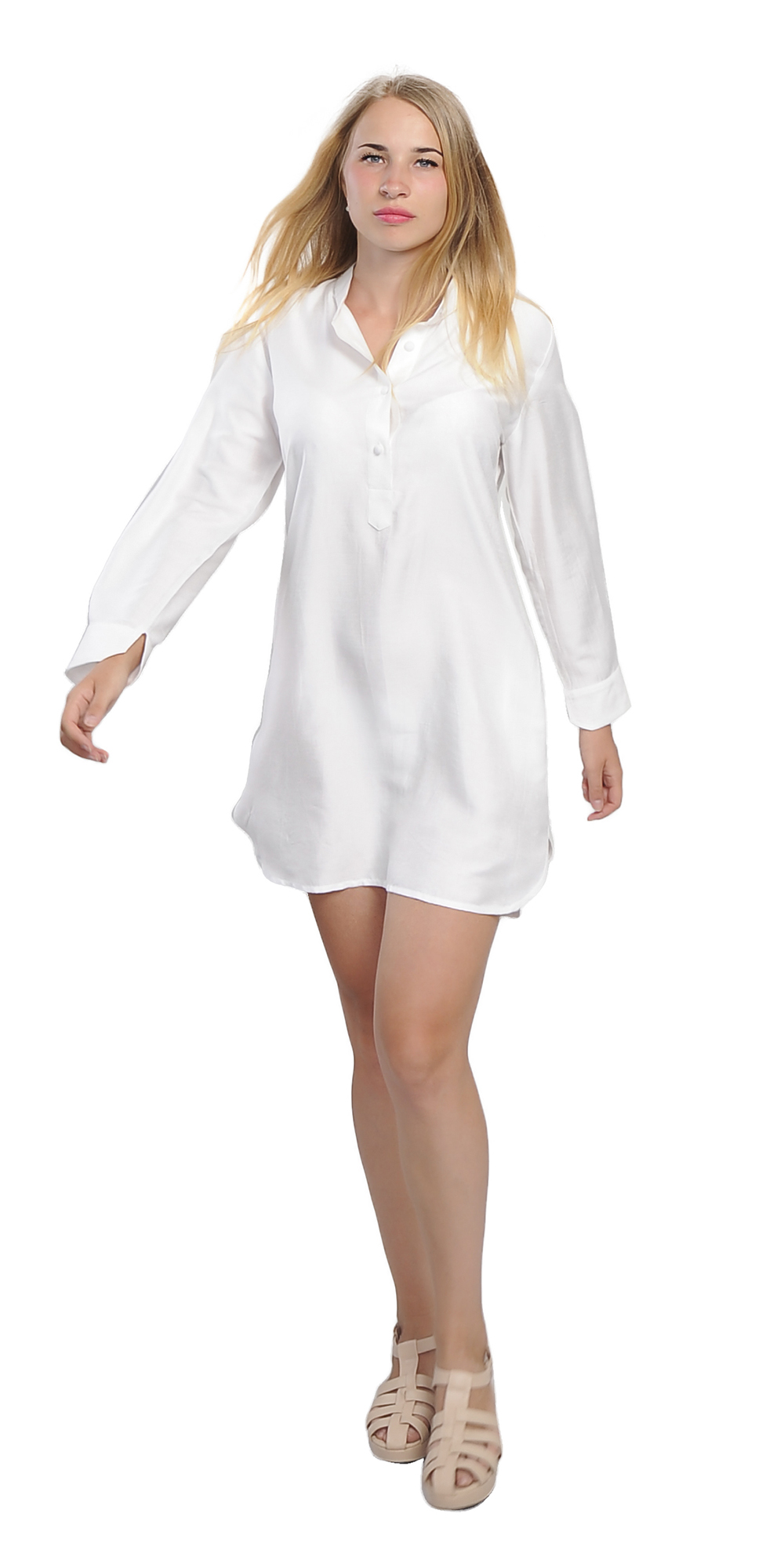 a001b116b7d89c Silk Long Sleeve Shirt Dress – EDGE Engineering and Consulting Limited