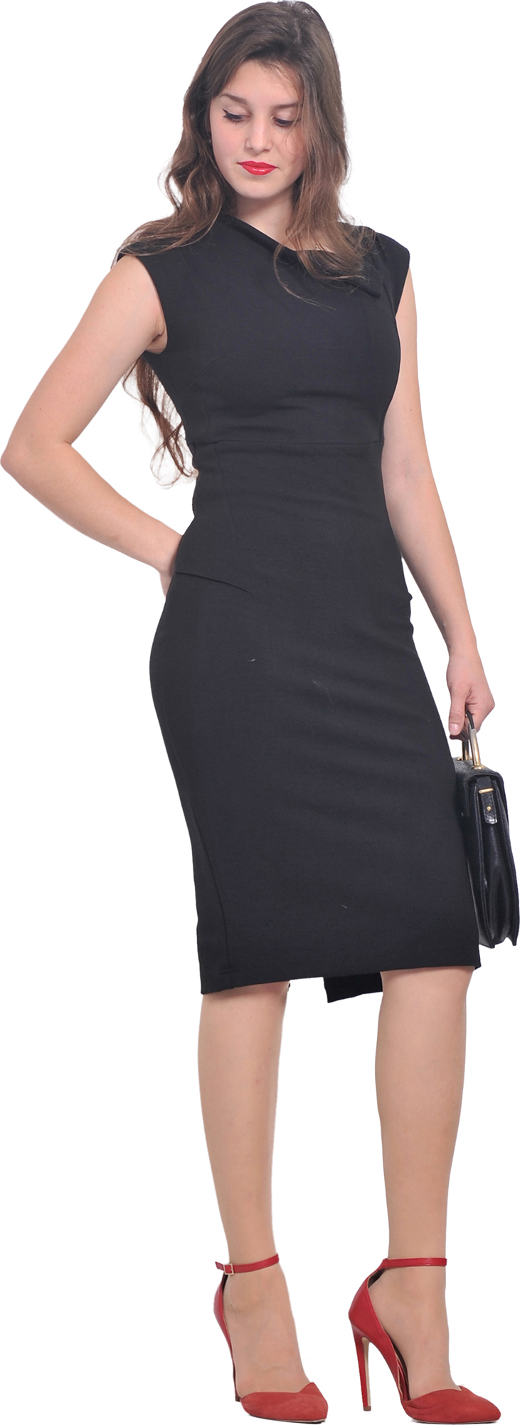 womens elegant business office wear to work office sheath pencil