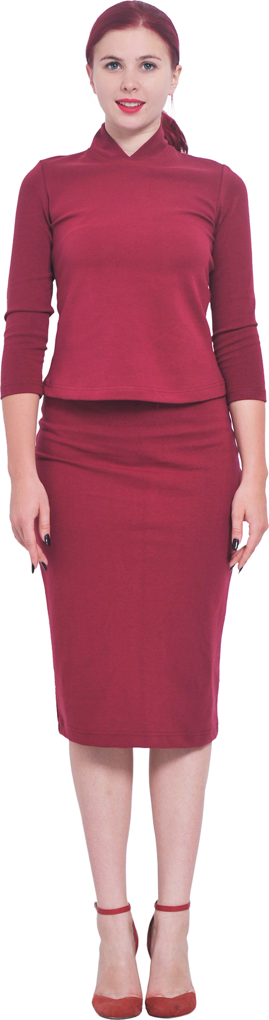 MARYCRAFTS WOMEN'S FITTED BODYCON PENCIL WORK OFFICE BUSINESS ...