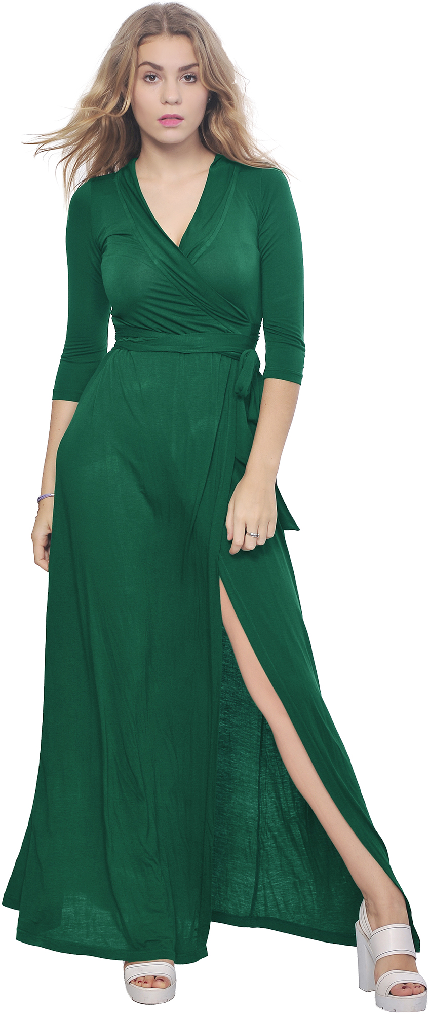 Cool With Sheer Long Sleeves That Nip In At The Wrist, And A Demure Button Closure In The Back, This Pretty Poly Dress Can Be Machine Washed For Easy Summer Wear It Comes In Sizes From 0X Plus To 3X Plus