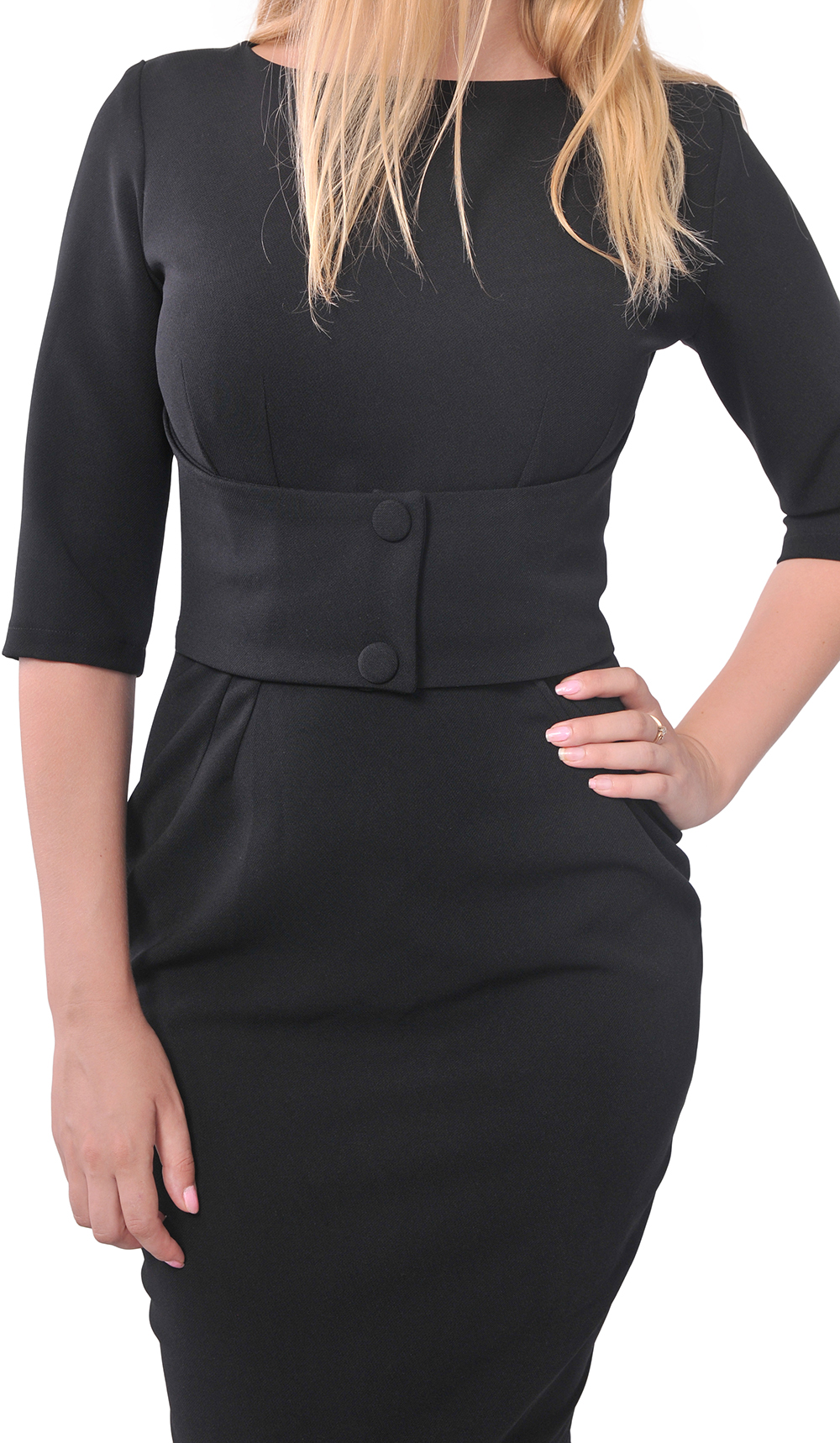 3eeafcd1db CLASSY WORK OFFICE WIGGLE PENCIL DRESS Classic VINTAGE 1950S 1960S ...