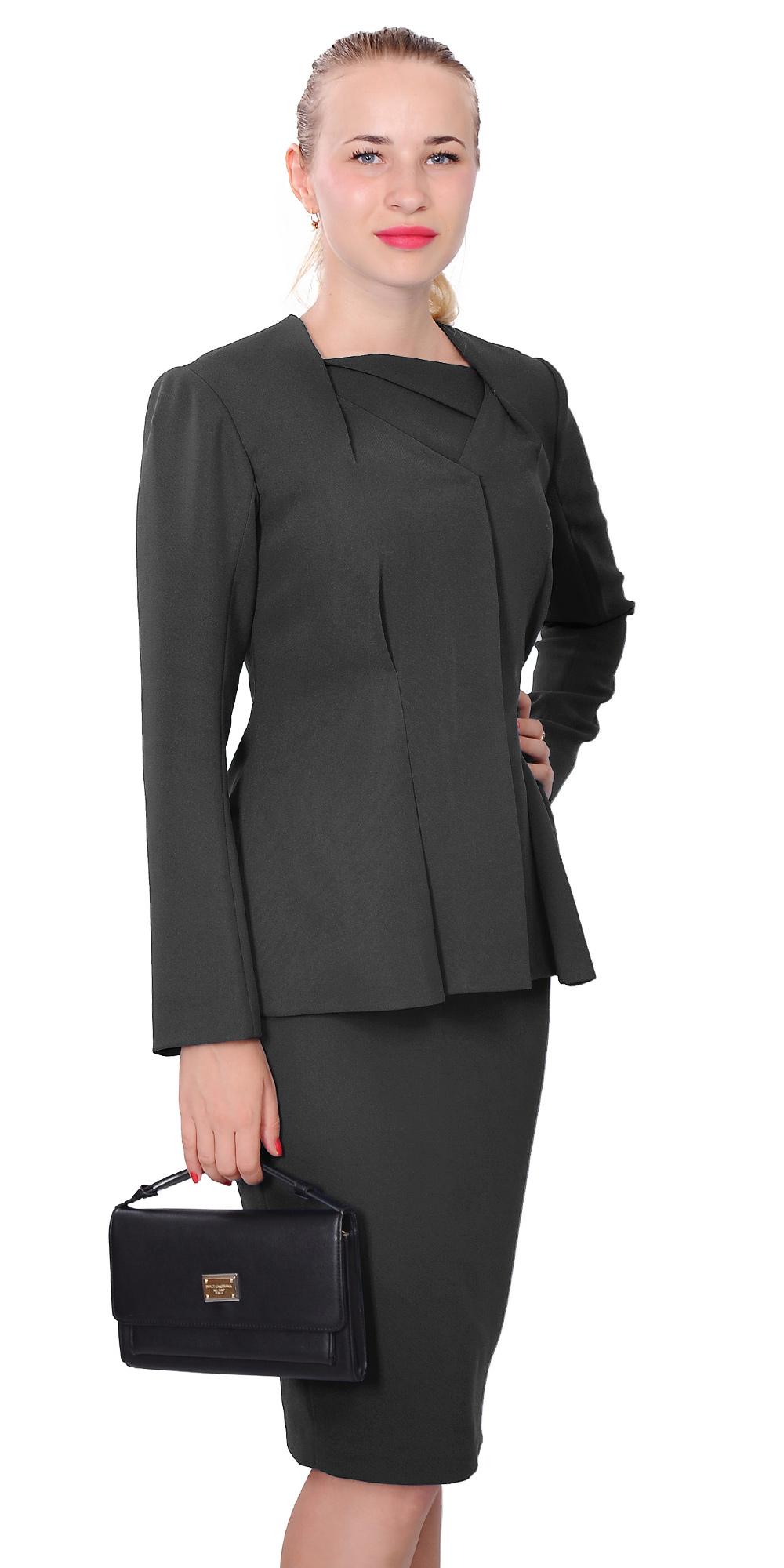 Womens Wear To Work Classy Elegant Lady Midi Dress Suit 4 Church