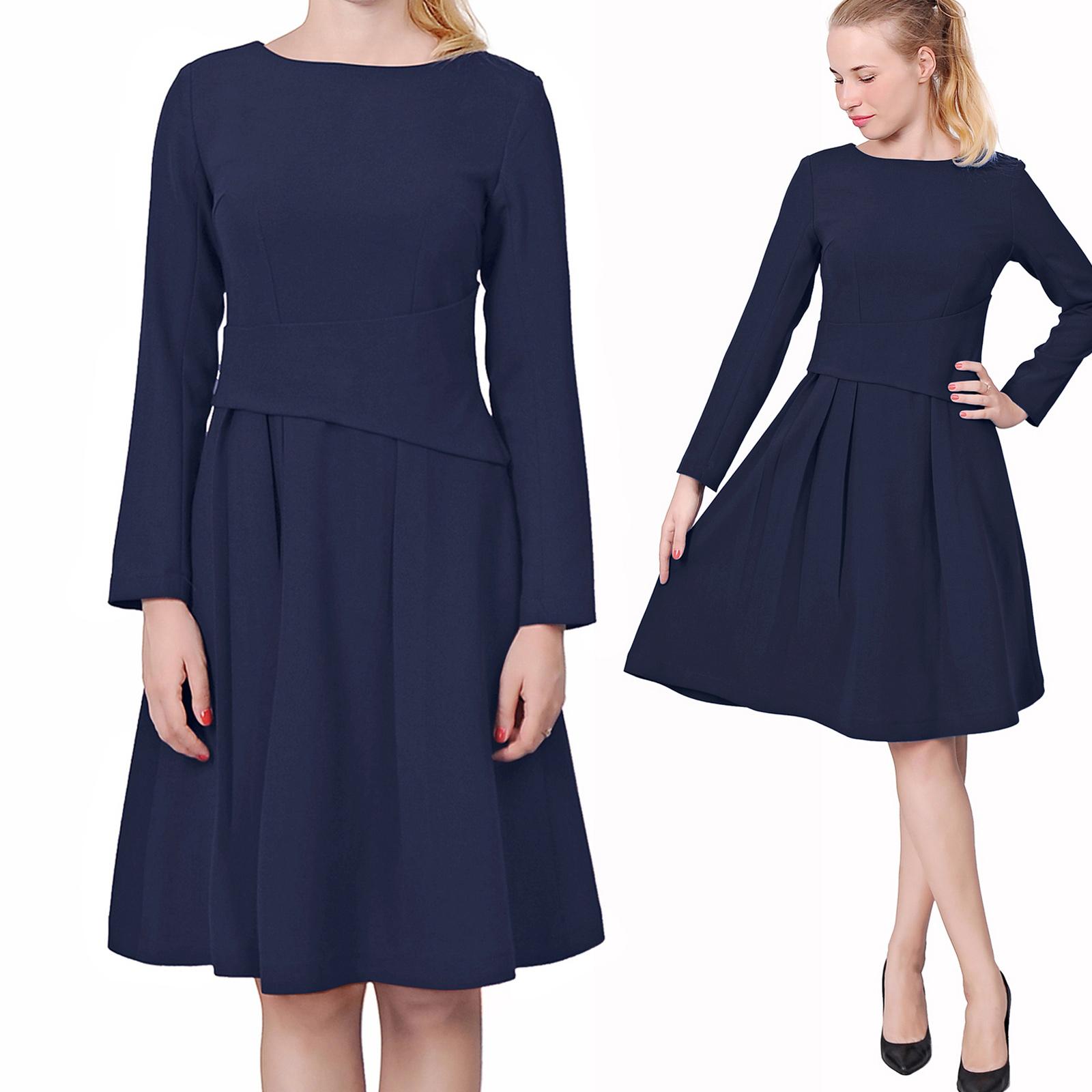 Black dress retro - Women 039 S Elegant Wear To Work Dress