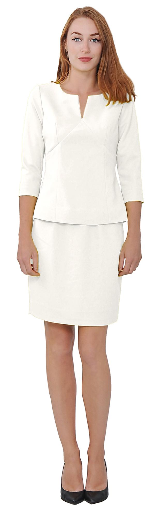 Women S White Skirt Suits 18