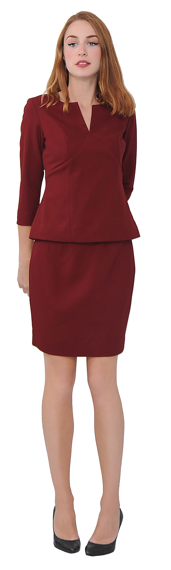 MARYCRAFTS WOMEN'S ELEGANT SKIRT SUIT SET WORK OFFICE BUSINESS ...