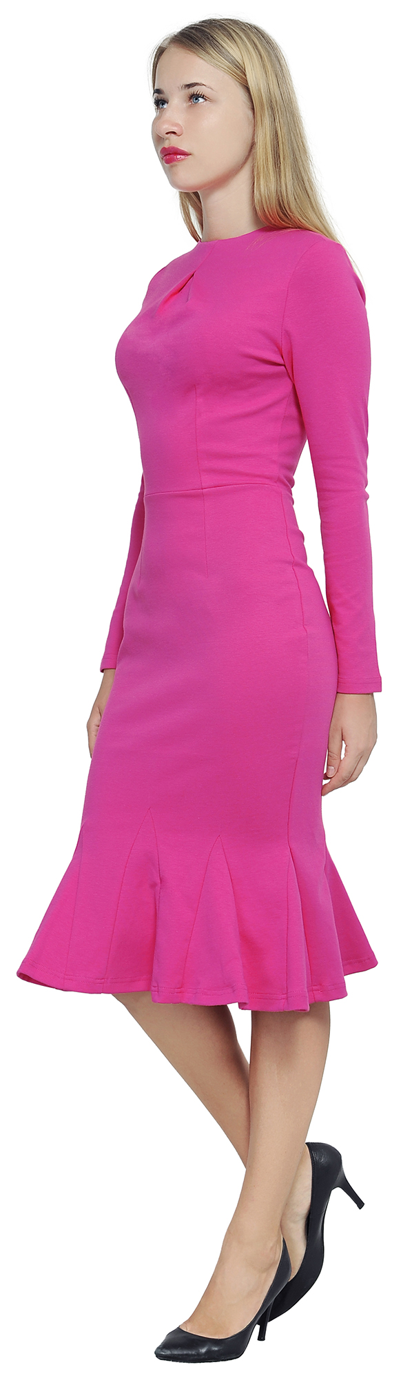 MARYCRAFTS WOMEN\'S ELEGANT DRESS PARTY COCKTAIL OFFICE WORK FISHTAIL ...
