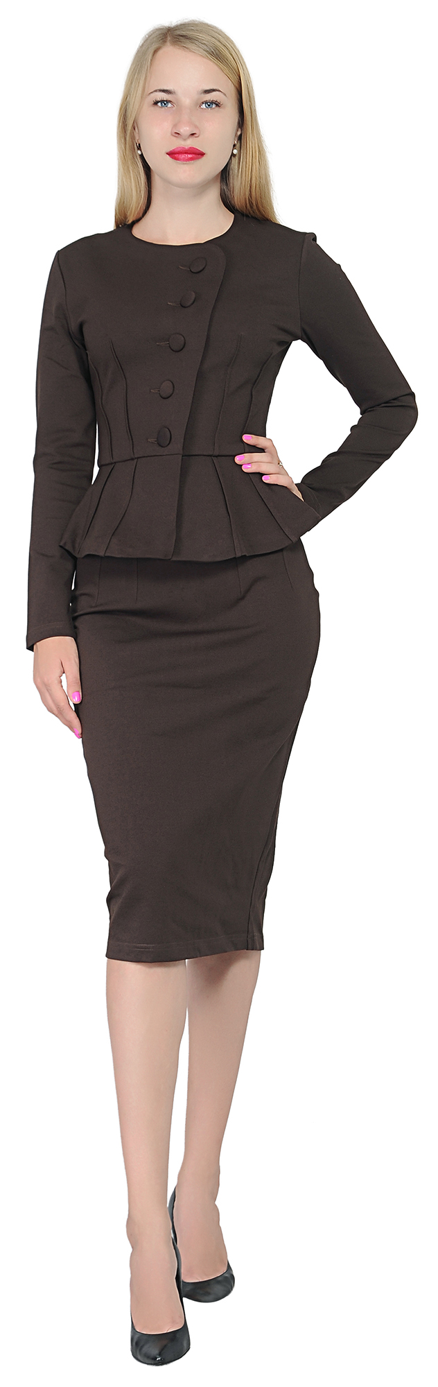 0f5f0f47a MARYCRAFTS WOMEN'S FORMAL OFFICE BUSINESS WORK SUIT SHIRT JACKET ...