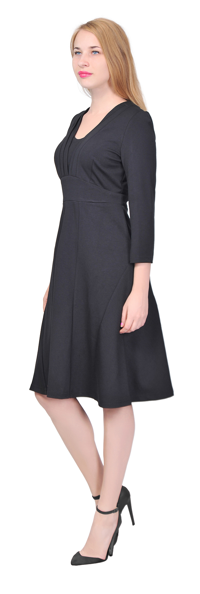 Marycrafts Womens Vintage A Line Midi Dress Formal Cocktail Work