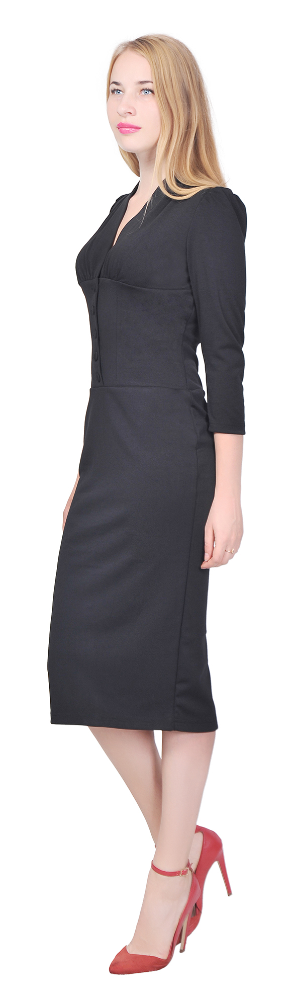 MARYCRAFTS WOMEN\'S VINTAGE 1940S PENCIL DRESS WORK OFFICE COCKTAIL ...