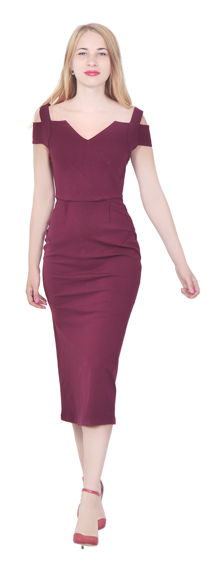 MARYCRAFTS WOMEN\'S COCKTAIL PARTY PROM EVENING DRESS MERMAID MIDI ...