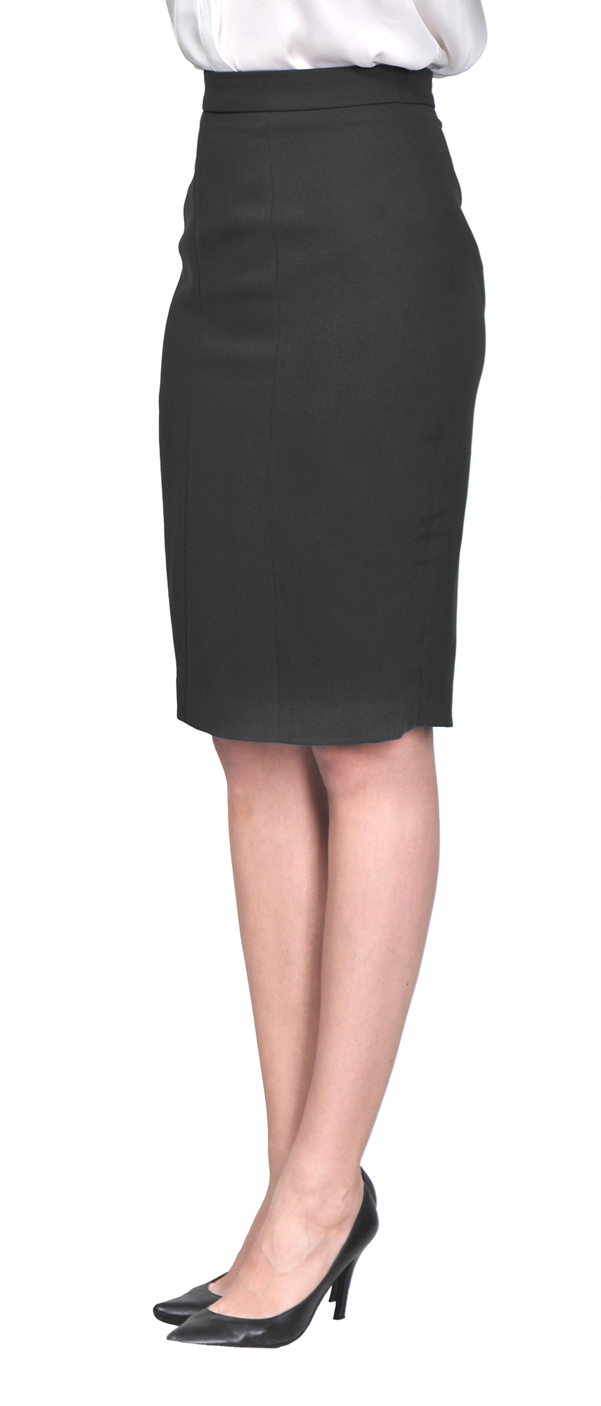 4a335e7bf27 MARYCRAFTS WOMEN S LINED PENCIL SKIRT WORK BUSINESS OFFICE KNEE ...