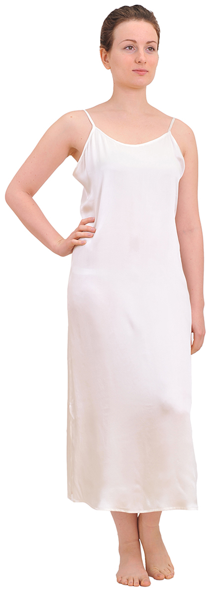 MARYCRAFTS WOMENS PURE SILK NIGHTIE NIGHT GOWN SLEEP DRESS ... - photo#19