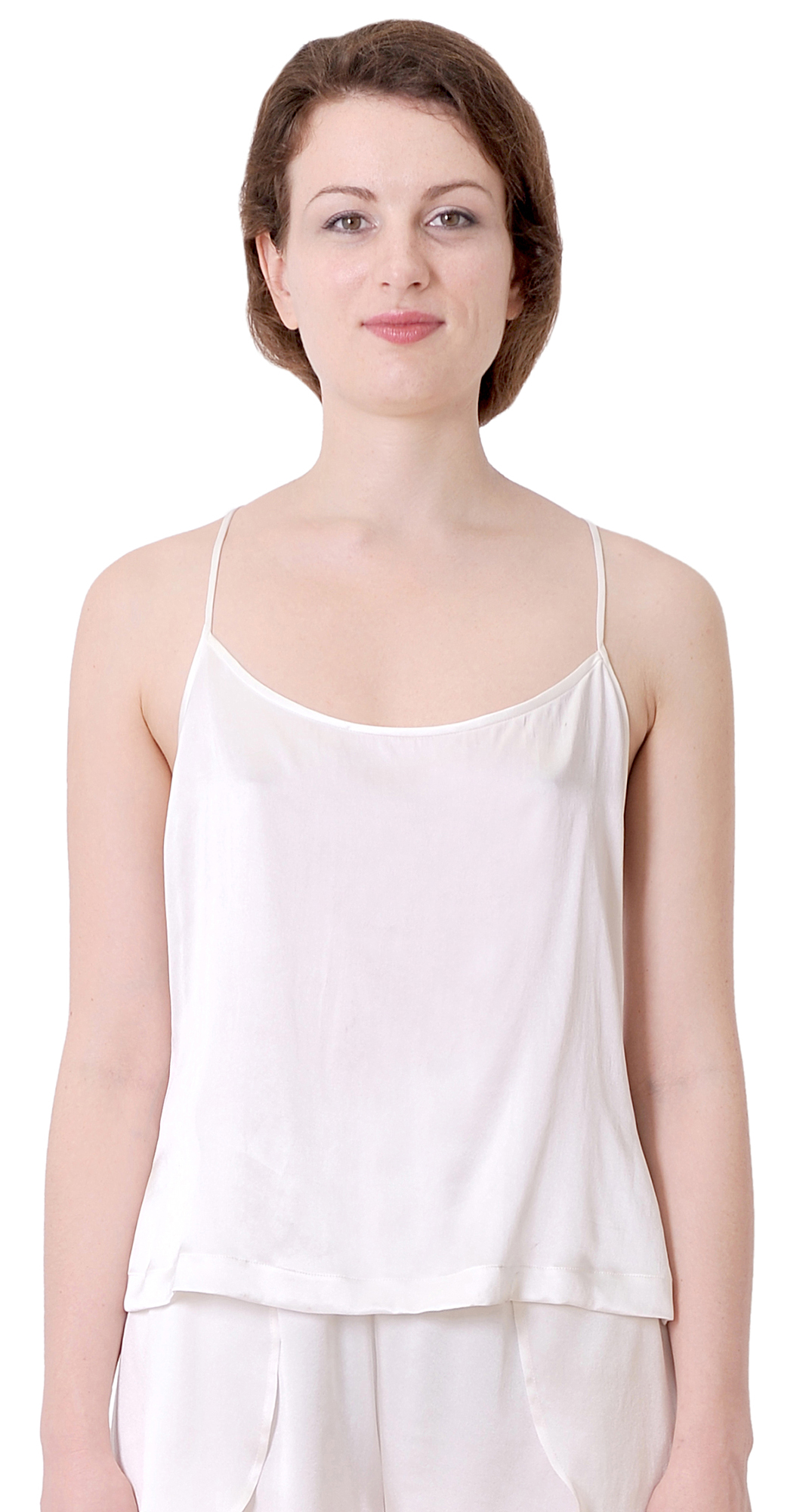 Camisoles are the perfect compliment to your tops. Utilize classic waist-length fits and stretchy fabric to tighten up your top layers. An open bust camisole flattens your tummy without flattening your bust.